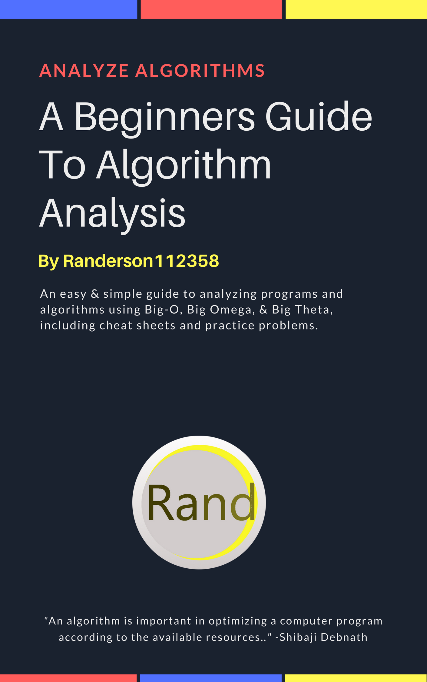 Algorithm Analysis Beginners Guide IMG